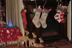 Christmas Eve (BarryFackler) Tags: christmas holiday yuletide christmastime fireplace christmasstockings reindeer rug goodies candycanes wonderwomandoll aquamandoll meradoll familyroom christmastable christmaslights tablecloth ornaments lights decorations 2018 christmas2018 indoor hawaii barryfackler westhawaii polynesia bigisland kona hawaiicounty sandwichislands island hawaiianislands captaincookhi cookslanding captaincookhawaii home
