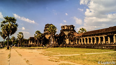 Angkor Vat (Lцdо\/іс) Tags: angkorwat vat temple cambodge cambodia travel trip palmier asia asian asie asiatique buddhisme buddha ប្រាសាទអង្គរវត្ citytrip novembre november 2018 vacance vacation discover
