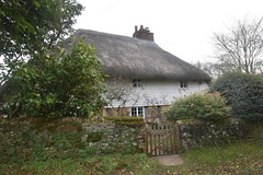 Clapperboard Cottage (PLawston) Tags: uk great britain england west sussex border path south downs park national clapperboard cottage