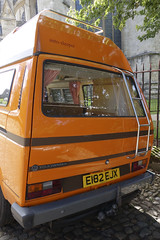 vw bus 3 (smallritual) Tags: york england vw bus transporter vanagon t25 volkswagen camper orange