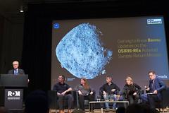 DAK_5256r (crobart) Tags: bennu osirisrex asteroid samplereturn mission rom connects talk public royal ontario museum
