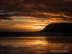 Sunset over Caswell Bay 2019 01 25 #57 (Gareth Lovering Photography 5,000,061) Tags: sunset sun sunny sunshine caswell gowercoast gower swansea wales seaside landscape beach walescostalpath olympus penf garethloveringphotography