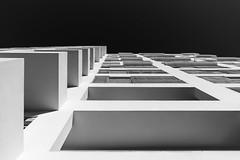 Cuboid for cuboid (rainerralph) Tags: schwarzweiss fe282470gm architektur lisboa blackwhite facade architecture sony fassade a7r3lissabon sonyalpha portugal