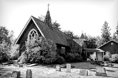 _ROS7044-Edit (Roshine Photography) Tags: britishcolumbia canada countries cowichanstation places standrewsanglicanchurch vancouverisland cemetery blackandwhite religiousbuilding