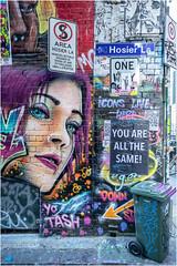 Hosier Lane . Melbourne (:: Blende 22 ::) Tags: australia australien victoria melbourne hosierlane graffiti colorful color bunt strasen strasenszene streets lane wideangel canon canoneosd ef1740mmf4lusm art streetart canoneos5dmarkiv