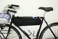 _MG_1211 (Necrotaoist) Tags: cycling bicycle randonneur albatrossbar framebag tubus wald137 nitto shanghai wtb sks justride bluelug b352 diy handmade steelframebike