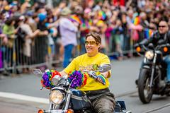 Dykes on Bikes, SF Pride 2015 (Thomas Hawk) Tags: america bayarea california dykesonbikes lgbt lgbtq marketst marketstreet pride pride2015 prideparade2015 prideweekend sf sfpride sfpride2015 sanfrancisco usa unitedstates unitedstatesofamerica motorcycle parade