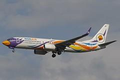HS-DBY DMK 15.12.2018 (Benjamin Schudel) Tags: hsdby boeing 737800 dmk bangkok don muang thailand thai nok air