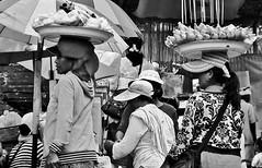 """INDONESIEN, Bali , Rund um den Muttertempel  Pura Besakih, farbenfrohes Gewimmel der Gläubigen, 17995/11224 (roba66) Tags: monochrome blackwhite bw blancoynegro swbw negro blackandwhite blancoenero byn bretoebranco einfarbig """"schwarzweis"""" roba66 bali urlaub reisen travel explore voyages rundreise visit tourism asien asia indonesien indonesia insel island île insulaire isla brauchtum tradition kultur culture hinduismus religion pilger menschen people leute mountagung agung purabesakih besakih muttertempel tempel temple bauwerk"""