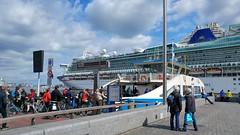 A Bigger Boat (Peter ( phonepics only) Eijkman) Tags: amsterdam city gvb pont pontveer ferry ij harbour haven ships nederland netherlands nederlandse noordholland holland