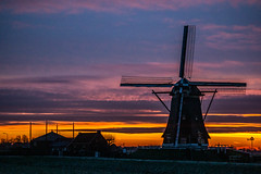 from time to time (Wöwwesch) Tags: sunrise colors windmill dutch netherlands morning icy layers