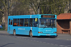 262. SN55 HTZ: Arriva Yorkshire (chucklebuster) Tags: sn55htz arriva yorkshire selby alexander dennis dart pointer