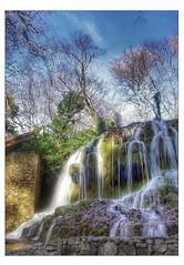 Une cascade dans la lumière (Charlottess) Tags: 2019 nikon5300 février cascade saintpons saintebaume bouchesdurhône