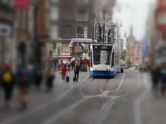 D'andere Blik: Tunnelvisie 2 (Peter ( phonepics only) Eijkman) Tags: amsterdam city combino gvb tram transport trams tramtracks trolley rail rails strassenbahn streetcars nederland netherlands nederlandse noordholland holland