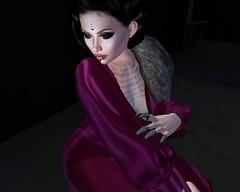 i'm yours (missbebinou) Tags: diva retro vintage woman goth vampire