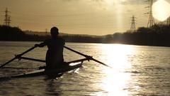IMG_8965 (fergusmainland) Tags: newcastle nubc university tyne canottaggio cannon sunset rowing aviron rudern sunrise british boat