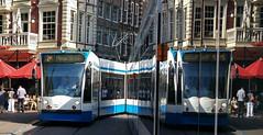 D'andere Blik: Spiegeltje ejtlegeipS (Peter ( phonepics only) Eijkman) Tags: amsterdam city combino gvb tram transport trams tramtracks trolley rail rails strassenbahn streetcars nederland netherlands nederlandse noordholland holland