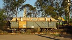 0413 ehem. Güterzugwaggon - old railway carriages, Port Pirie (roving_spirits) Tags: australia australien australie southaustralia