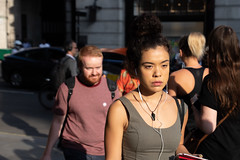 20180716-IMG_4718 (roger_thelwell) Tags: mayfair oxford circus uk london beautiful street photography bw black white portrait people urban city commuters winter cold hat hats mobile phone cell england hair fleet strand life natural walking talking conversation chat speak speaking beauty handbag stud studs lamppost lamp post shiny shiney leather smoking cigarette westminster traffic cab taxi bag sac shoulder mono monochrome great britain streets photographs real photographic photos candid rain umbrella group