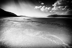 KARANLIKLAR ARASINDA (Yücel Deniz) Tags: landscape blackandwhite naturephotography natural acıgöl mountain manzara clouds outdoor skyline light lake background beautiful travel nocolour