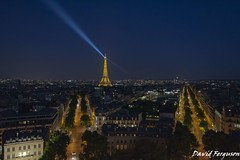 Paris at Night (Daveoffshore) Tags: eiffel tower france night evening city paris architecture daveoffshore