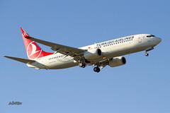 IMG_1858@L6 (Logan-26) Tags: boeing 7378f2 tcjvf msn 42008 turkish airlines riga international rix evra latvia aleksandrs čubikins blue sky fly flying