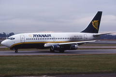 EI-COX (Ryanair) (Steelhead 2010) Tags: ryanair boeing b737 b737200 eireg eicox