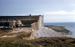 img814 (foundin_a_attic) Tags: 1960s birling birlinggap sussex coast cliffs