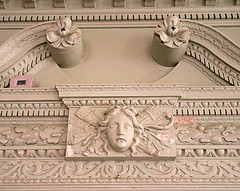 Philipse frieze lady (DannyAbe) Tags: philipsemanorhall yonkers mansion frieze