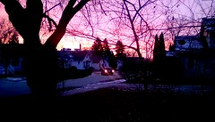 Another sunrise! (Maenette1) Tags: december sunrise neighborhood street menominee uppermichigan flicker365 allthingsmichigan absolutemichigan projectmichigan
