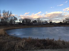January 6, 2019 - A gorgeous end to the day in Thornton. (LE Worley)