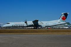 C-GVJZ (Air Canada express - JAZZ) (Steelhead 2010) Tags: aircanada aircanadaexpress jazz bombardier dhc8 dhc8q400 yyz creg cgvjz