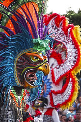 birds (Mau Silerio) Tags: costume mask tradition traditional tribal tribe feathers bird dance dancer dancing danza ritual sony alpha portrait model modelling models parade festival
