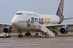 AtlasAir / B744 / N464MC / GMAD (_Wouter Cooremans) Tags: gmad aga agadir spotting spotter avgeek aviation airplanespotting atlasair b744 n464mc