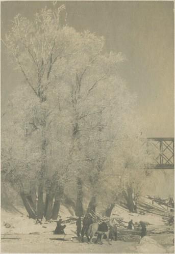 Кременчуг - Железнодорожный мост 1941-1942 006 PAPER2400 [eBay] [Волок А.М.] ©  Alexander Volok