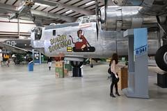 QE3A9728 (TravelBear71) Tags: pimaairspacemuseum museum tucson arizona planes airplane warplanes am girl woman