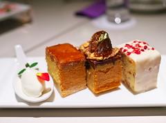 3 kinds of mini-cakes (Long Sleeper) Tags: sweets dessert food cafe pavlov cake cakes poundcake fruit chestnut whippedcream motomachi yokohama kanagawa japan dmcgx1