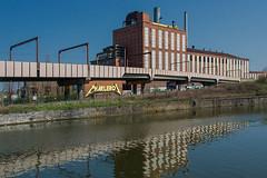 A walk along the Sambre III (jefvandenhoute) Tags: belgium belgique charleroi industry industrialarcheology light samber sambre river