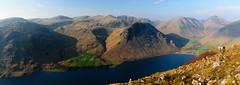 View from Illgill Head (Joe Hayhurst) Tags: yewbarrow panorama wastwater wasdale illgill england lakedistrict