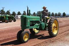John Deere Model B (twm1340) Tags: 2019 az arizona flywheelers antique tractor show cottonwood