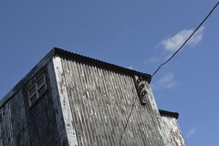 PowerLine (Tony Tooth) Tags: nikon d7100 nikkor 35mm f18g building lines corrugated magpiemine sheldon derbyshire