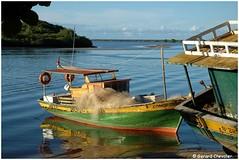 Bateau - Santa Cruz Cabralia. (Brésil) (gerard21081948) Tags: brésil brasil bahia santacruzcabralia barque pêche filets rivière rio fleuve joãodetiba