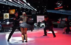 Auto Dancers (timmerschester) Tags: dance naias detroit michigan january cars vehicles