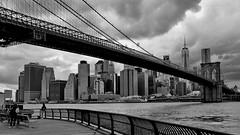 NYC Brooklyn Bridge (gerard eder) Tags: world travel reise viajes america northamerica urban urbanlife urbanview usa unitedstates newyork manhattan skyline skycraper sky city ciudades cityscape cityview städte stadtlandschaft wasser water wolken clouds nubes paisajes panorama landscape landschaft sea seascape outdoor nyc ny