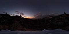 R0011574 (full.moon.for.the.fool.man) Tags: 360 2018 xmass chania thetasc theta ricoh crete greece χανιά κρήτη ελλάδα ηλιοβασίλεμα sunset