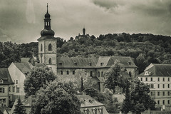 Bamberg (dietmar-schwanitz) Tags: bamberg bayern bavaria franken franconia oberfranken upperfranconia deutschland germany architektur architecture altstadt oldtown weltkulturerbe worldheritage altenburg burg castle kirche church jakobskirche stjakob vintage alt old monochrom monochrome mono schwarzweis blackwhite bw sw urlaub vacation reise travel trip silverefex nikcollection nikond750 nikon nikonafsnikkor24120mmf40ged lightroom dietmarschwanitz