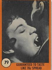 Nu card horror monster Series ( 1961 ) (Donald Deveau) Tags: tradingcards horrormovie monsters vampire nucard horrormonsterseries