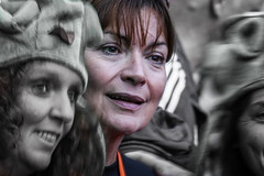A Face in a Crowd - Lorraine Kellly (FotoFling Scotland) Tags: event edinburgh kiltwalk scotland charity lorrainekelly murrayfieldstadium walk