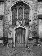 Montagu Vault Entrance (davepickettphotographer) Tags: cambridgeshire huntingdonshire kimbolton village uk eastmidlands morning early huntingdon east eastern england standrews church montagu family