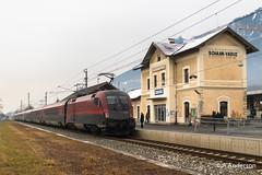 1116 223 20190207 SchaanVaduz, Lichtenstein (steam60163) Tags: obb lichtenstein schaanvaduz taurus railjet class1116